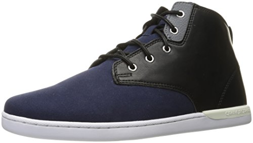 Creative Recreation Men's Vito Fashion Sneaker, Black Cement, D(M) US Navy Black