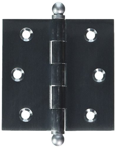 - Deltana CH2525U26D Solid Brass 2-1/2-Inch x 2-1/2-Inch Cabinet Hinge with Ball Tips