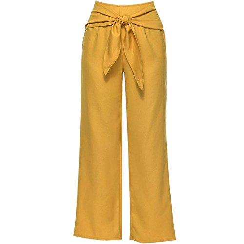 lastique de Sport Trousers Overmal Jeans Cheville Longueur Boho Neuf Jaune Yoga la Cordon Sarouel Et Haute Un Coton DContract Pants Jambe Plaid Taille Lger Pantalon Femme Les Poches 0qfwxz0B