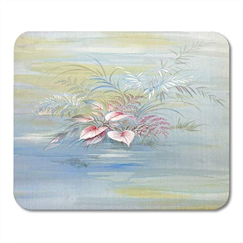 (Mouse Pads Bloom Colorful Painterly Floral Hand Made Design Artist Blossom Pad 9.5 X 7.9 for Notebooks,Desktop Computers Mats, Office Supplies)