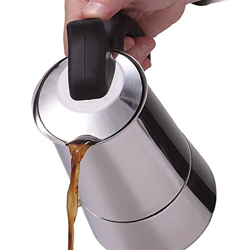 Primula Stainless Steel 4-Cup Stovetop Espresso Coffee Maker