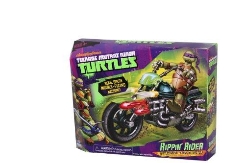 Teenage Mutant Ninja Turtles Rippin Rider - Motocicleta de Juguete para Tortugas Ninja