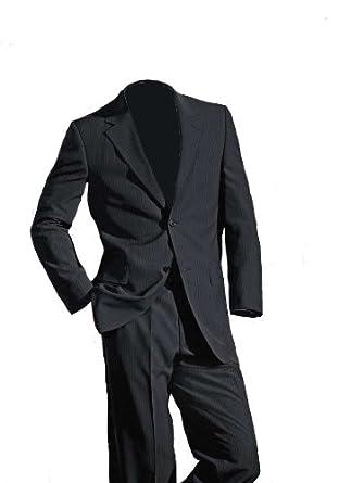 eterna Herren-Anzug Marken-Herren-Schurwolleanzug grau in Größe 94  Schurwolle Grau 2edd21314a