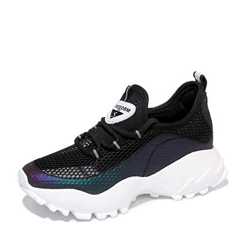 correndo con Donna scarpe scarpe le da scarpe da le Alla tennis autunno in sportive AJUNR respirabile black croce Moda OZwqHH