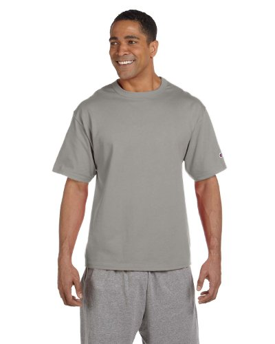 - Champion 7 oz Cotton Heritage Jersey T-Shirt in Oxford - XX-Large