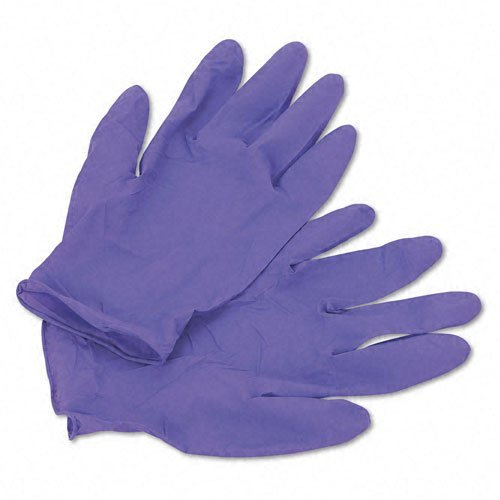 Halyard Health Professional : Disposable Nitrile Exam Gloves, Large, Purple, 100 per Box -:- Sold as 2 Packs of - 100 - / - Total of 200 Each