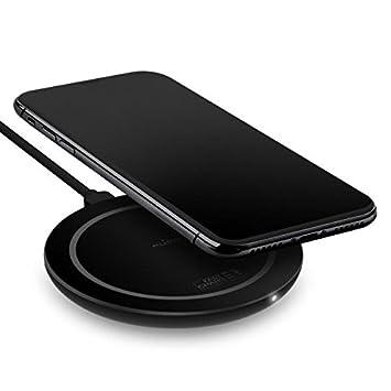 /Bianco PURO ultracompatto Wireless Veloce Stazione di Ricarica per Qi Smartphone/