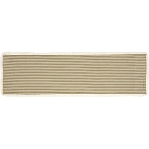 VHC Brands Classic Country Farmhouse Tabletop & Kitchen - Kendra Stripe Tan Runner, 13