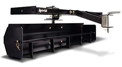 Agri-Fab 45-0265 Ground-Engaging Attachment Sleeve Hitch Scraper Box, Black
