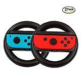 Nintendo Switch Steering Wheel { Set of 2 }, Walway Joy-Con Wheel Handle { L& R } for Nintendo Switch Controller Review