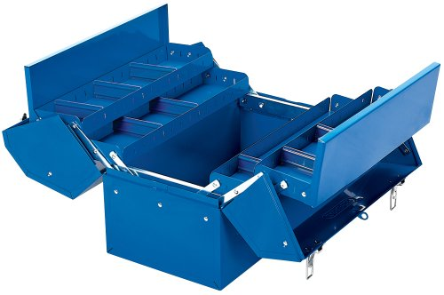 Draper 460mm Barn Type Tool Box with 4 Cantilever Trays - 48566