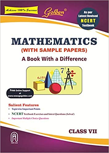 Golden Mathematics: With Sample Papers A Book with a Difference for