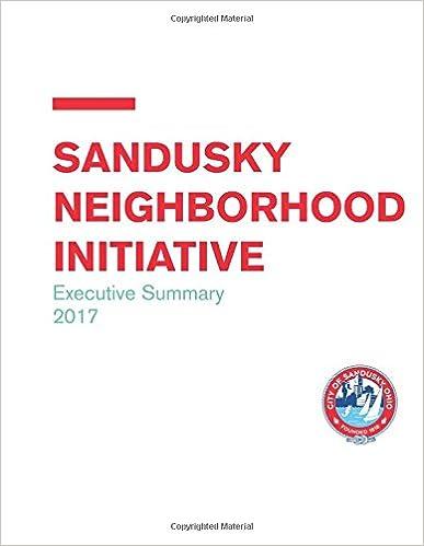 Book Sandusky Executive Summary