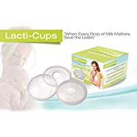 Lacti-Cups Catches All the Breastmilk Leaks Throughout the Day, Reusable, Pro...