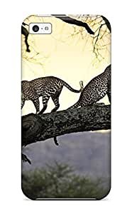 OtVEHGO1182IgGxi CaseyKBrown Leopards For SamSung Galaxy S4 Mini Case Cover Hard shell Soft Case
