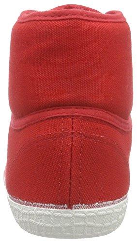 Altas 33 Deportivas de Rojo Adulto Unisex Lona Basic Kawasaki Rot Zapatillas Rainbow Red tqIO7xX
