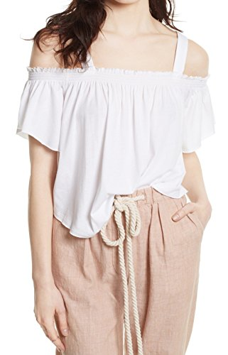 Free People Women's Darling Top White X-Small