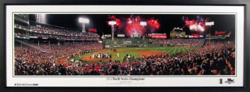 Boston Red Sox Fenway Park 2013 World Series Champions Panoramic Framed