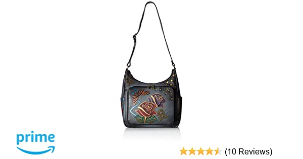 Amazon.com  Anna by Anuschka Women s Genuine Leather Large Hobo Handbag  5d8f4c2510f07