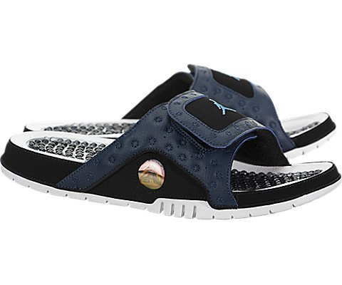9456bec14 Jordan Hydro XIII Retro Men s Sandals Midnight Navy University Blue 684915- 400 (9