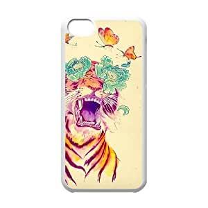 Tiger Flower DIY Cell Phone Ipod Touch 5 LMc-97028 at LaiMc