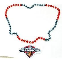 MLB San Francisco Giants 2012 World Series Champions Team Logo Beads, Orange