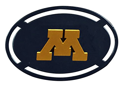 Henson Metal Works 5000-38 Univ of Minnesota logo Curtain Tieback Set