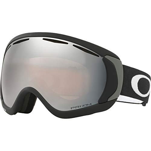 32fc039e1ac Oakley Canopy Matte Adult Prizm Snow Snowmobile Goggles Eyewear - Black Black  Iridium One Size Fits All
