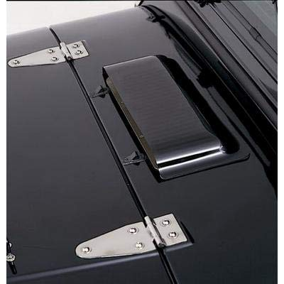 RAMPAGE PRODUCTS 5305 Dark Smoke Acrylic Air Scoop for 1986-2006 Jeep Wrangler YJ & TJ