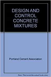 design and control of concrete mixtures pdf free download