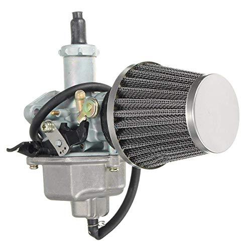 Casavidas Carburador del Filtro de Aire de la Toma 26m m Carburador de 38m m para Honda CB125 CB125S CG125