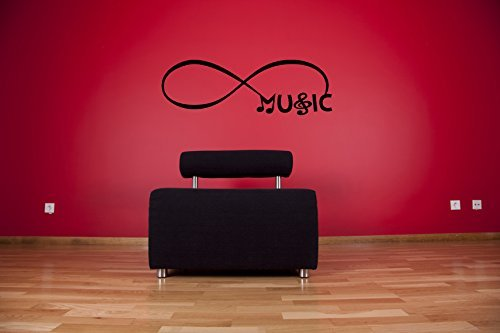 Amazon Infinity Sign Symbol Music And Notes Vinyl Wall Words