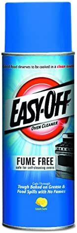EASY-Off 178 Oven Cleaner Fume Free Max Aerosol, 16 Oz, (Pack of 12)