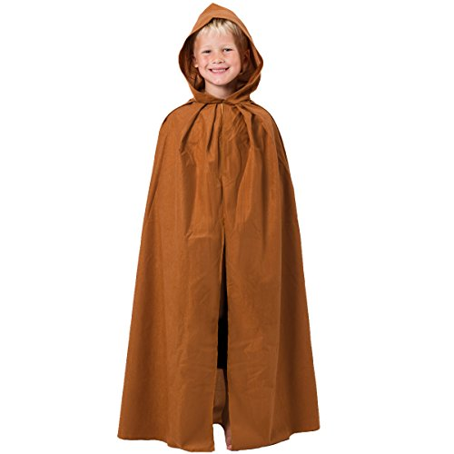 Women's Star Wars Costumes Uk (Light Brown Cloak with Hood)