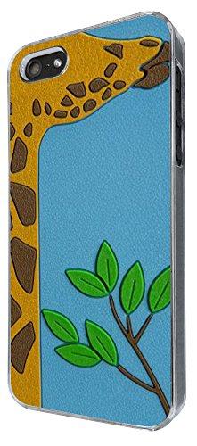 412 - Cute Giraffe Face Design iphone 4 4S Coque Fashion Trend Case Coque Protection Cover plastique et métal