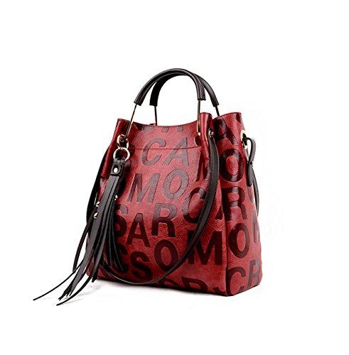 Frauen Taschen, Damen Handtaschen, Echtleder Schulter Beutel