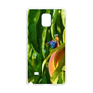 Samsung Galaxy Note 4 Case Protection Snail 6, Snail Samsung Galaxy Note4 Case for Men [White]