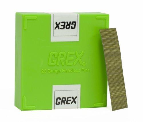 GREX P6/20L 23 Gauge 3/4-Inch Length Headless Pins (10,000 per box) by Grex Power Tools