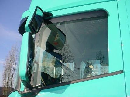 Year Trucker Cabin Accessories Set of 2 Pcs Specific Wind Deflectors Rain Window Side Winddeflectors Tinted for Truck 2017