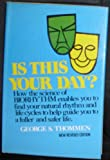 Is This Your Day?, George Thommen, 0517505991