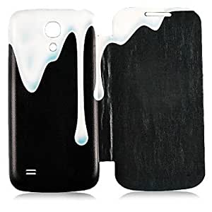 qyf Dripping Paint Full Body Case for Samsung Galaxy S4 Mini I9190