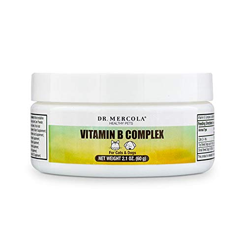 Dr. Mercola Vitamin B Complex for Pets - 2.1 OZ, 60g
