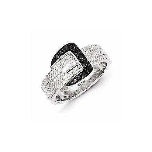 Black Diamond Buckle Ring - 4