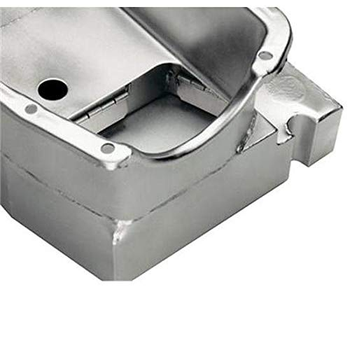 SB Fits Chevy Claimer Oil Pan w/Plug Combo, Hi-Vol. Pump, LH Dipstick