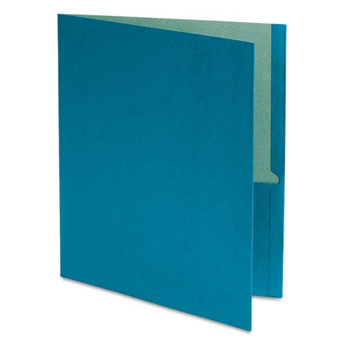 (Earthwise by Oxford - Earthwise 100% Recycled Paper Twin-Pocket Portfolio, Blue 78502 (DMi BX)