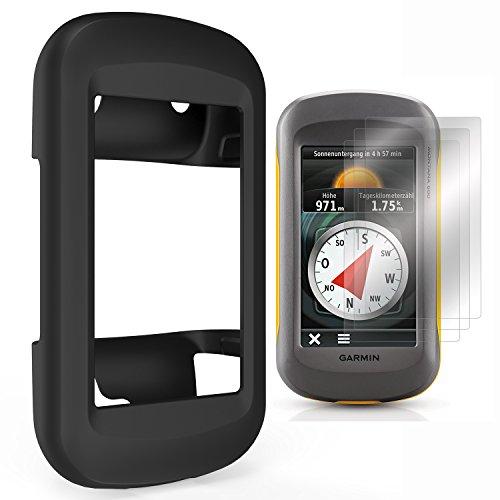 TUSITA Funda con protector de pantalla para Garmin Montana 600/650/650t/610/610t Camo/680/680t Funda protectora de silicona para senderismo GPS: Amazon.es: ...