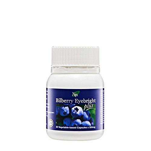 4 x Cosway Bilberry Eyebright Plus ( 30 Vegetable Capsules )