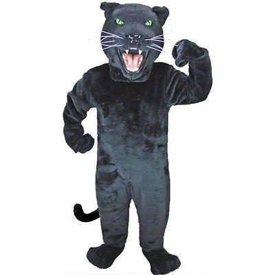 Amazon.com: Black Panther Mascot Costume: Clothing