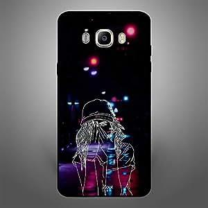 Samsung Galaxy J7 2016 Doodle Cap Girl