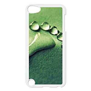 DDOUGS Footprint Personalized Cell Phone Case for Ipod Touch 5, Best Footprint Case